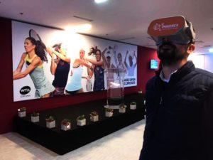 Diffusion réalité virtuelle éducative basketball