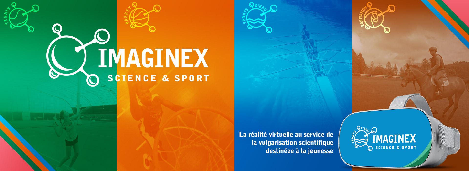 Réalité virtuelle pédagogique Imaginex sciences et sport