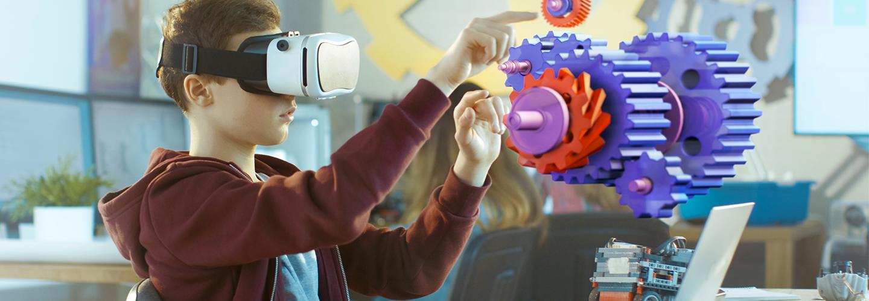 Réalité virtuelle éducation - apprendre en VR