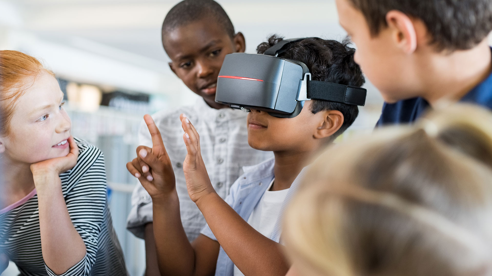 VR et éducation enfants apprentissage formation école