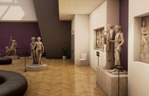 visite virtuelle de musée - studio vr 4d crea