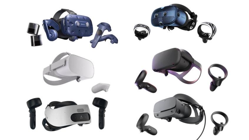 Comparatif des casques VR pour les professionnels