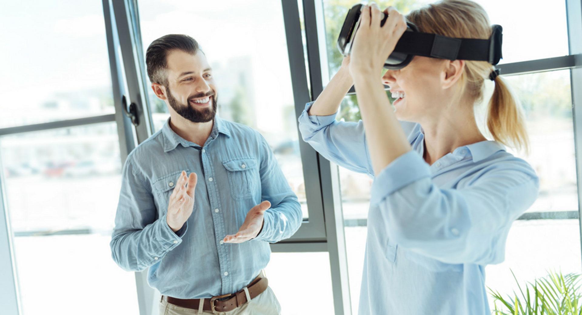 Formateur en réalité virtuelle, utilisateur vr, formation en entreprise