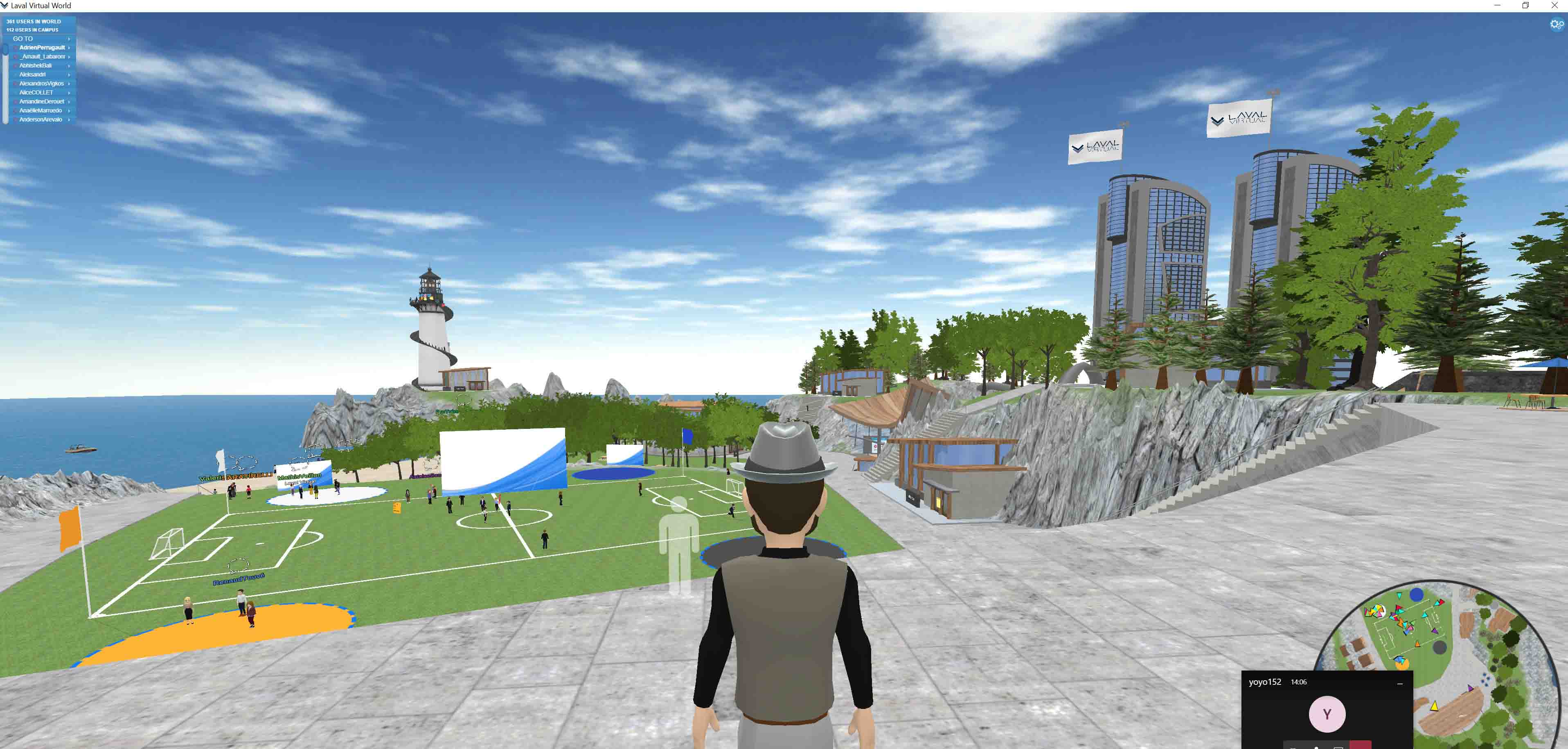 Laval Virtual campus virtuel