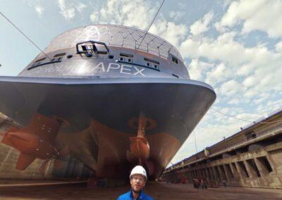 CHANTIERS DE L'ATLANTIQUE – Visite virtuelle interactive des chantiers