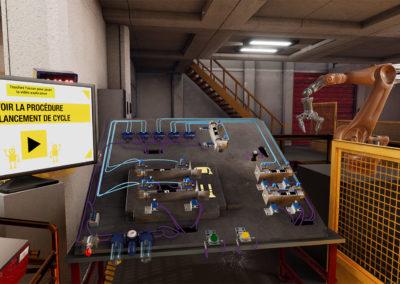 RENAULT – Formation génie pneumatique en réalité virtuelle